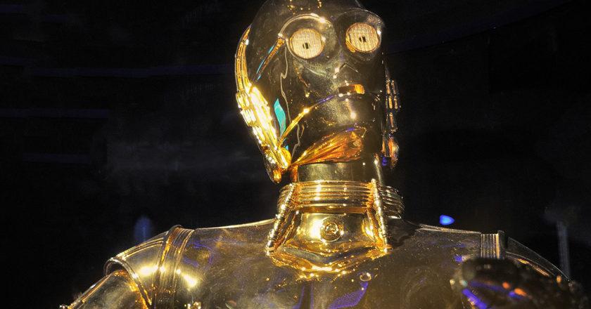 c-3po robotický humanoid