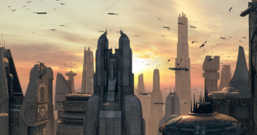 Coruscant planéta Star Wars