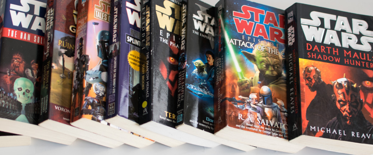 knihy hviezdne vojny