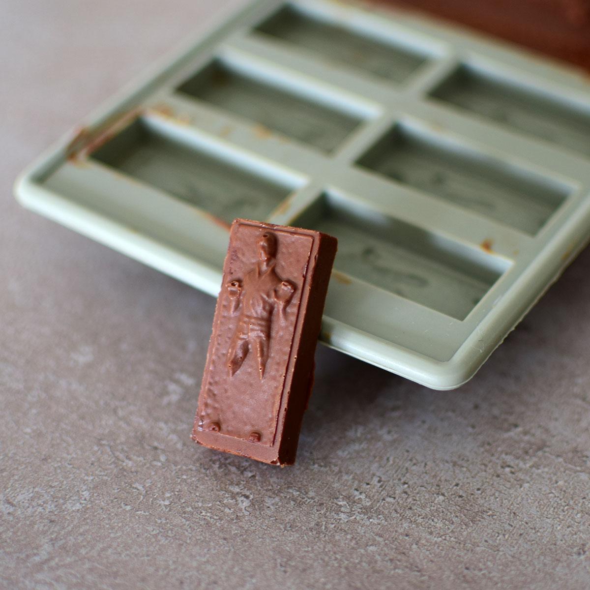 Han Solo v karbonite - silikónová forma