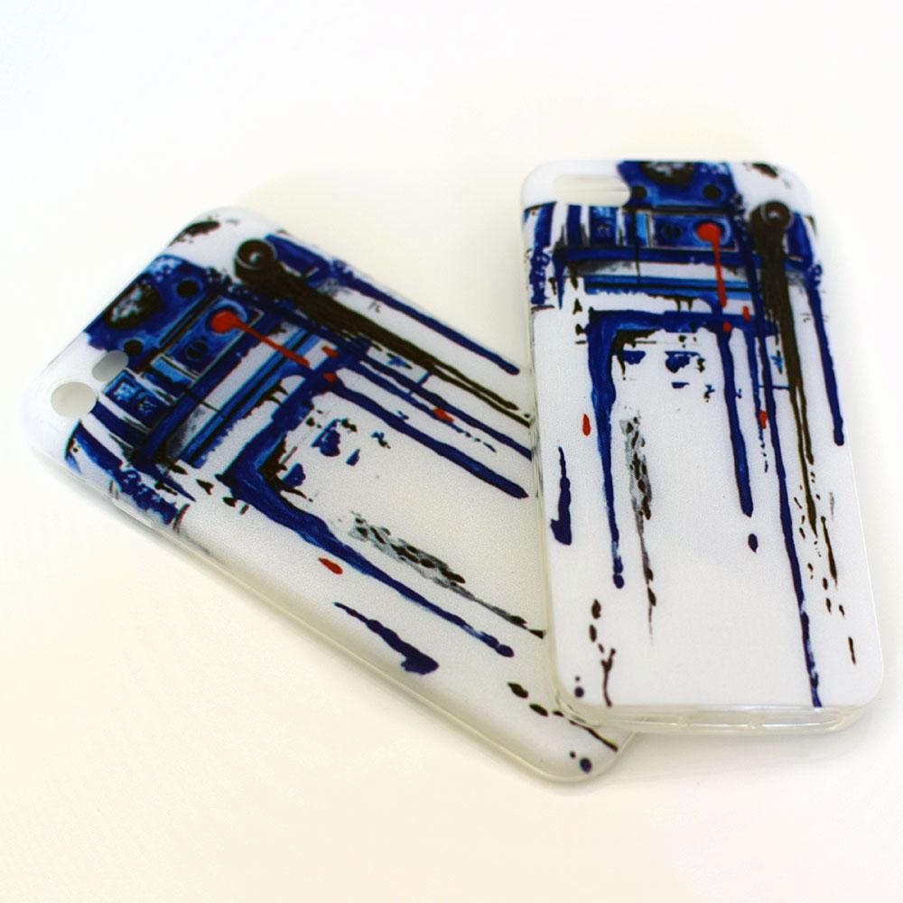 R2D2 - silikónový obal na mobil