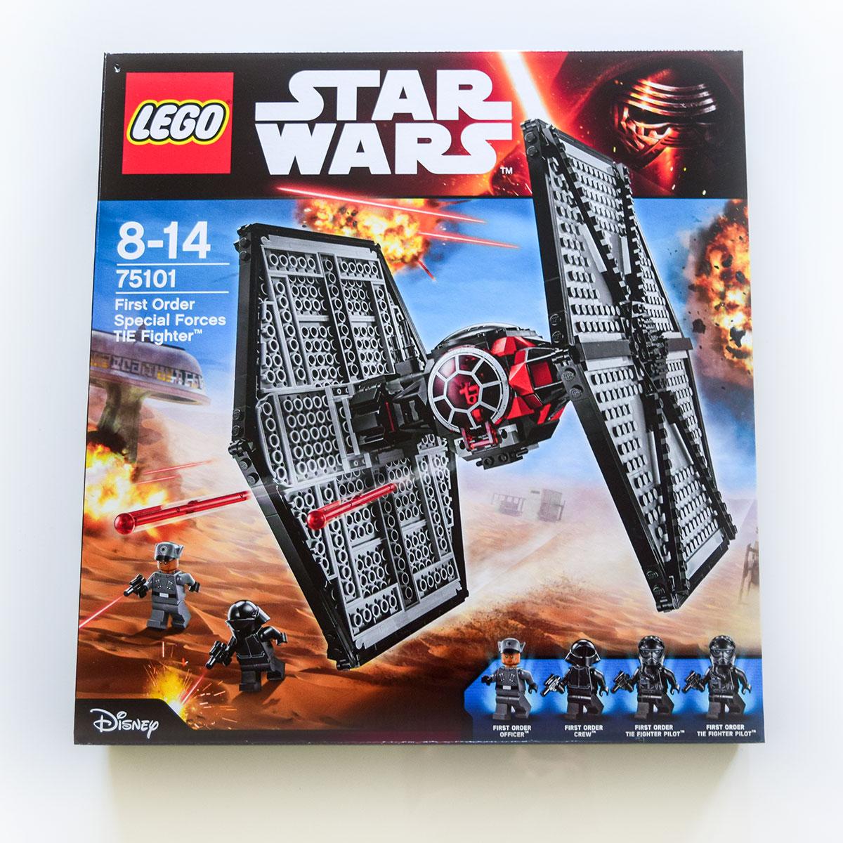 LEGO Stíhačka TIE špeciálnych jednotiek Prvého radu