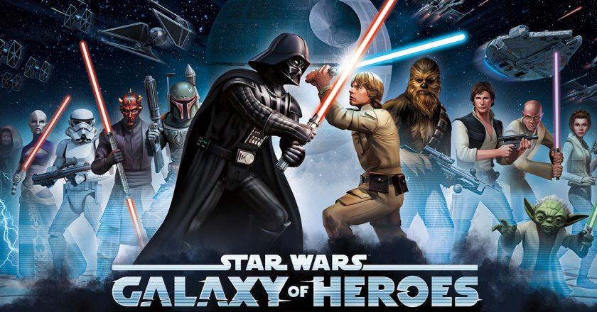 hra Star Wars - Galaxy of Heroes