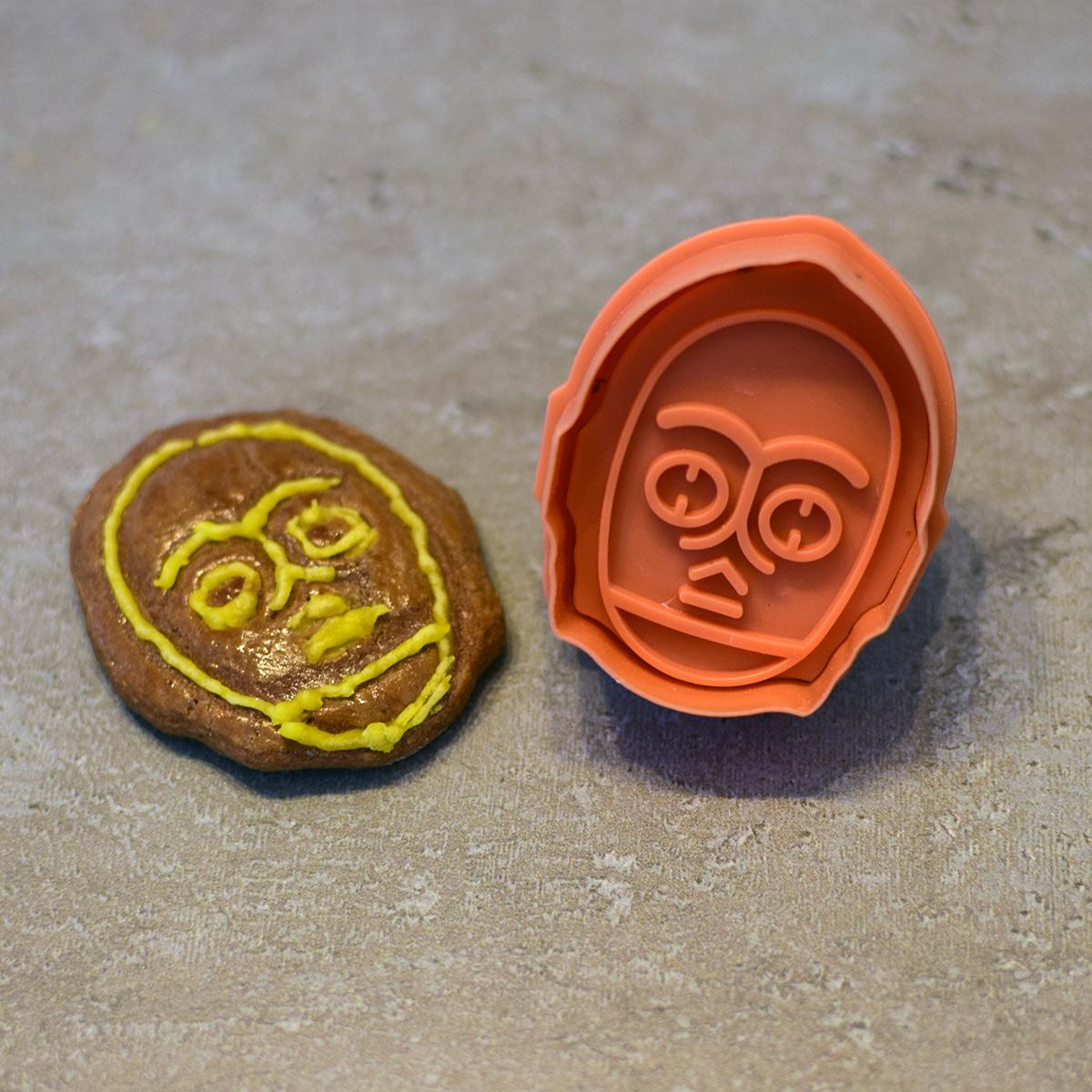 koláčiky C3PO - forma na pečenie