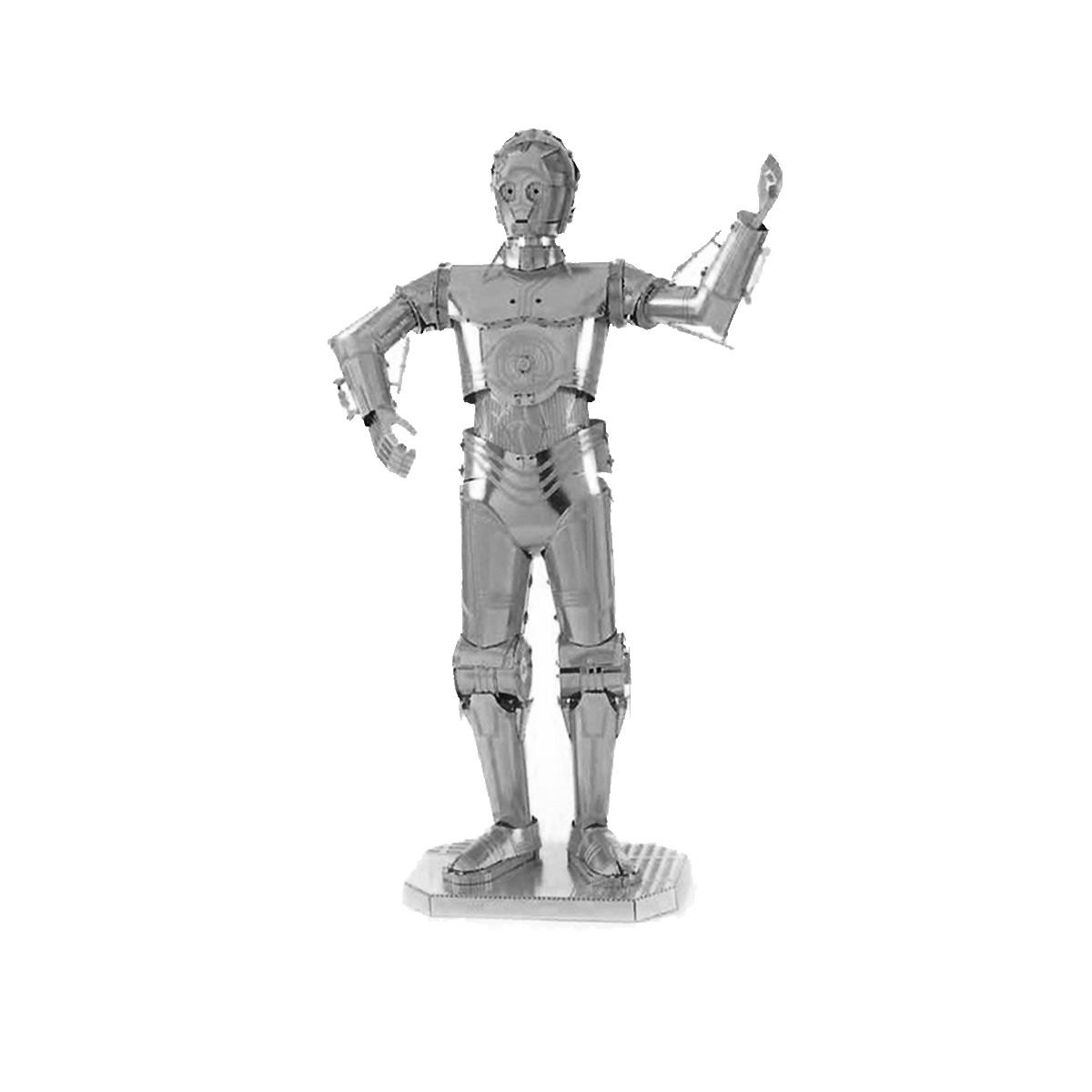 Kovový model C3PO
