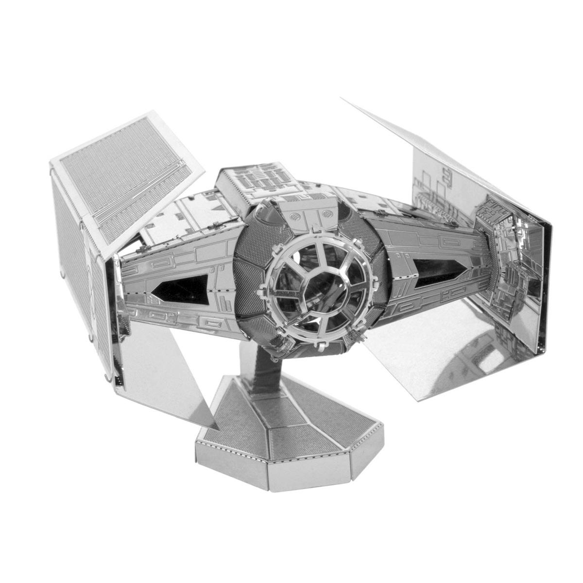 Kovový model Tie Advanced - stíhačka Darth Vadera