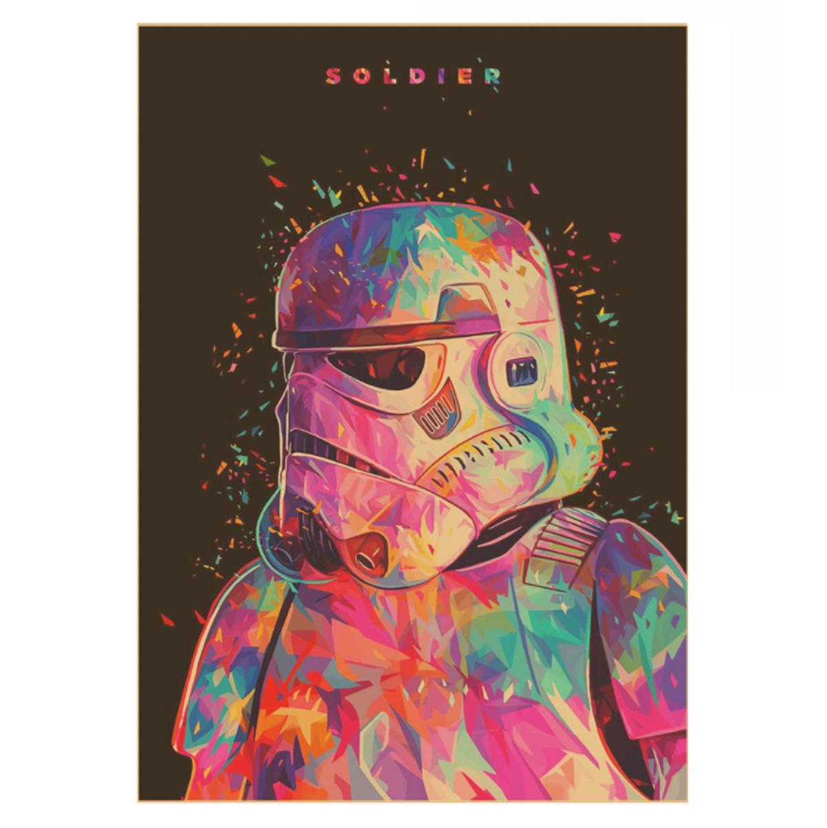 plagát stormtrooper