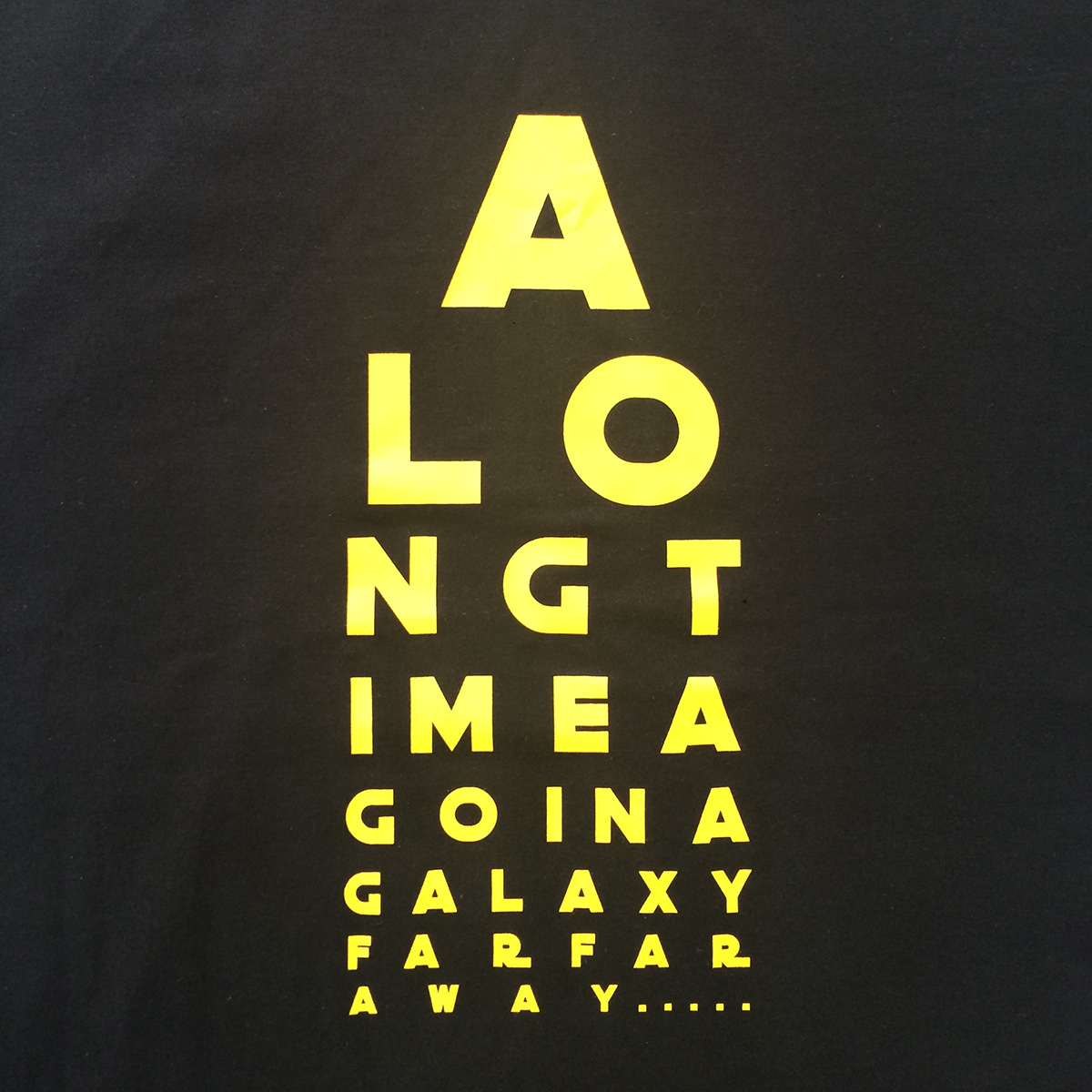 tričko star wars čierne