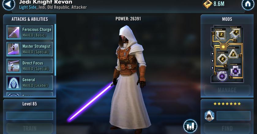 ako na Jedi Revan? zFinn