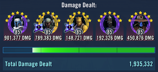 bounty hunters - sith raid